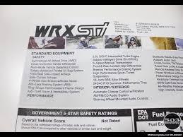 2013 subaru impreza wrx sti hatch wrb w less than 1k miles