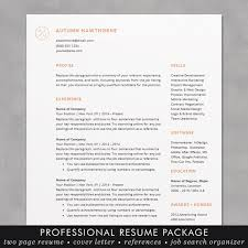 Resume Template Word Mac Minimal Modern Resume Cv Template Word Mac Or Pc