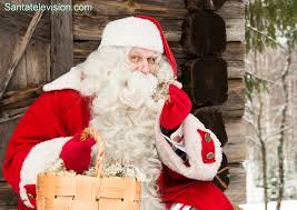 photo santa claus presenting