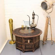 Large Round Coffee Table by The Best Indian Coffee Tables