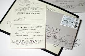 thermography wedding invitations vito thermography new year s wedding invitations