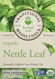 traditional medicinals 20031 organic nettle leaf herb tea amazon