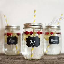 jar wedding free shipping 36pieces fancy jar wedding chalkboard labels