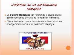 histoire de la cuisine et de la gastronomie fran軋ises la gastronomie française