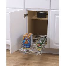 cabinet sliding organizer rack kitchen cupboard storage shelf