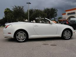 lexus sc430 white for sale 2002 lexus sc 430 for sale in bonita springs fl stock 029726 16