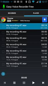 android voice app of the day easy voice recorder free android pocket lint