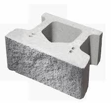 firth keystone compac iv retaining wall block straight face rockface