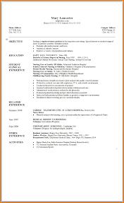 Resume Samples Nurse Practitioner by Nursing Nursing Student Resume Template