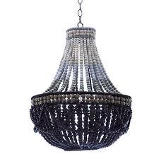 bead chandelier contemporary wooden bead chandelier pfeifer studio