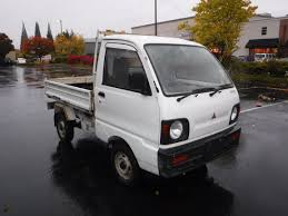 mitsubishi pickup trucks used 1991 mitsubishi mini truck dump for sale in portland oregon