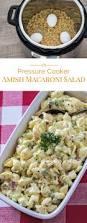 easy pasta salad pressure cooker instant pot amish macaroni salad