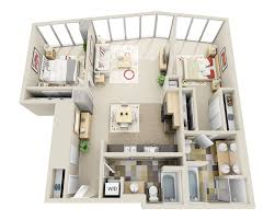 Apartment Plans Floor Plans And Pricing For Elements Apartments Bellevue Wa