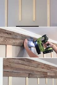How To Build A Shed Out Of Wooden Pallets by How To Create A Wood Pallet Accent Wall Pallet Accent Wall