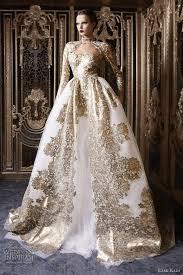 gold dress wedding rami kadi couture 2012 2013 wedding inspirasi