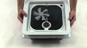 Rv Bathroom Fan Blade Replacement Ventline Enclosed Trailer Parts V2094sp 34 Review Youtube