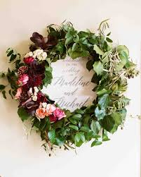 wedding wreaths 26 ideas that prove wreaths aren t just for christmas martha