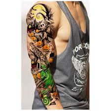 online shop 20pcs waterproof large temporary tattoos stickers fake
