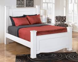 Poster Bed Frame Signature Design By Weeki Contemporary Poster Bed