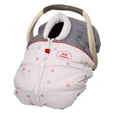 couvre siège auto bébé housse mi saison pastillou de petit coulou poupons cie