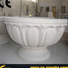 Faux Stone Planters by Faux Stone Containers Faux Stone Garden Pots And Gardens