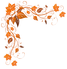 vectorof fall halloween background clip art free transparent autumn decoration png clipart image frames u0026 cards