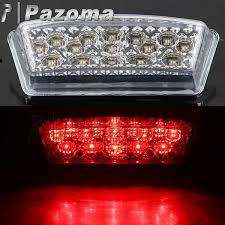 pazoma motorcycle led lght abs clear brake taillights