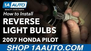 honda pilot parts 2007 how to change replace light bulbs 2007 honda pilot