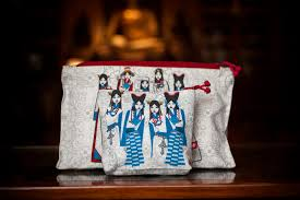 faces of tibet makeup pouches