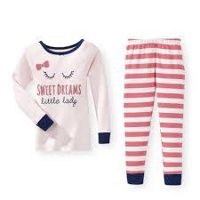 koala 2 sweet dreams graphic pajama set toddler