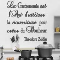 la cuisine citation la gastronomie est l d utiliser la nourriture pour créer du