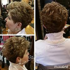 short curley hairstyles for middle aged women short hairstyles for women over 50 hairiz