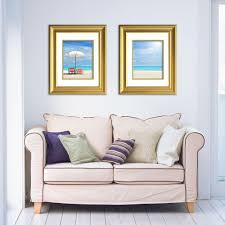 timeless frames lauren 1 opening 16 in x 20 in gold matted