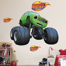 blaze and the monster machines pickle mini monster truck wall blaze and the monster machines pickle mini monster truck wall sticker huge large small