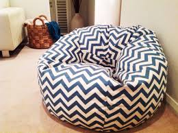 bean bag adults teens kids zig zag bean bag cover chevron