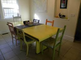 yellow kitchen table and chairs yellow dining room table marceladick com