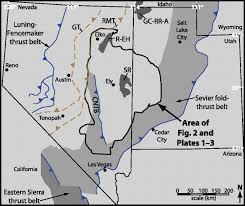Map Of Idaho And Utah by Magnitudes And Spatial Patterns Of Erosional Exhumation In The