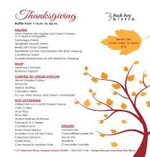 thanksgiving menus visit newport