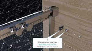 Bel Shower Door by Ove Elvina Shower Alcove Installation Youtube