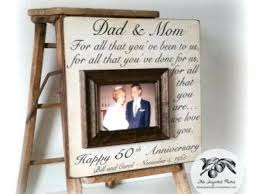 gifts for 50th wedding anniversary 50th wedding anniversary gifts for parents 50th anniversary gift