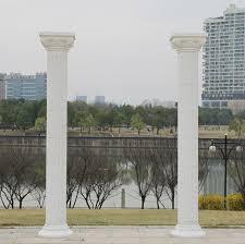 2m height wedding roman pillar wedding party decoration plastic