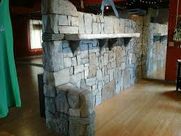 interior rock walls jacks rock art creates distintive interior rock art