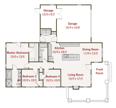 41 3 bedroom house floor plans bedroom 2 bath house plan design