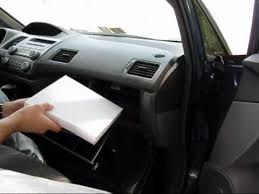 honda accord cabin air filter replacement how to replace cabin air filter honda civic
