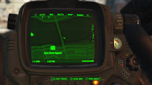 Fallout 4 Map by Fallout 4 U0027s User Interface Is Truly Terrible