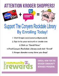kroger community rewards u2013 nancy guinn memorial library