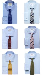 Mens Formal Wear Guide A Guide To Men U0027s Shirt U0026 Tie Combinations Fashionbeans