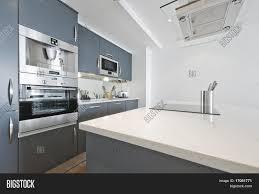 modern contemporary kitchens modern contemporary kitchen built image u0026 photo bigstock