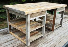 Diy Pallet Work Table Woodworking Pinterest Rustic Sofa Tables