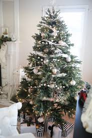 Faux Fur Christmas Tree Skirt Christmas Tree Tour The Idea Room